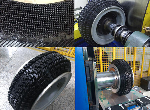 Linglong Tire successfully tests 3D printed tire